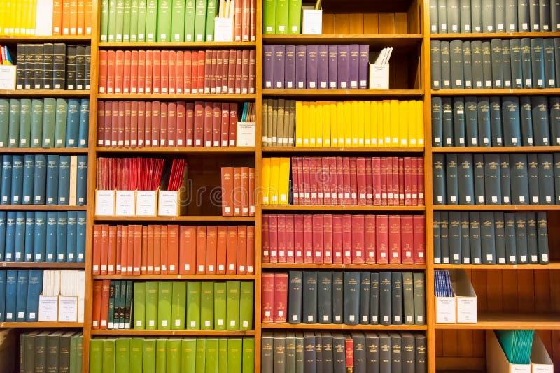 Prawo biblioteka zdjęcie royalty free