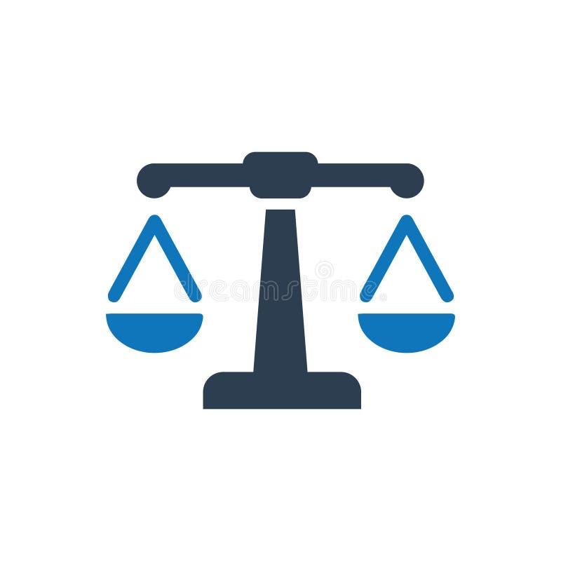 Prawo ikona ilustracji