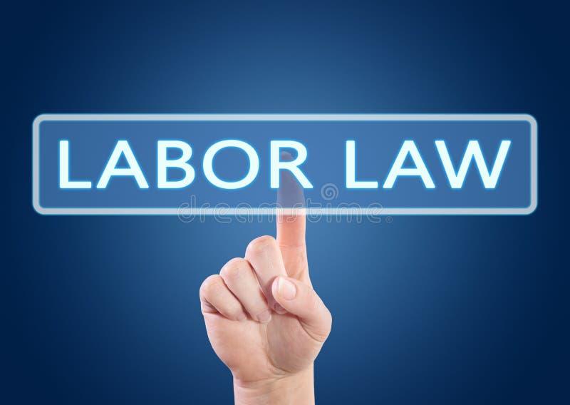 Prawo Pracy teksta pojęcie obrazy stock
