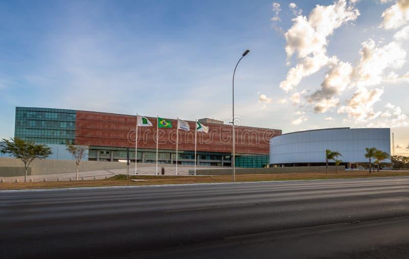 Prawodawcza sala Federacyjna Distrito - Brasilia, Distrito Federacyjny, Brazylia zdjęcie royalty free