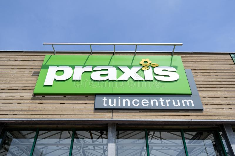 Praxis garden center sign at store editorial photo image of praxis is a leading diy brand in the netherlands and has a total of 146 stores and is part of the maxeda diy group solutioingenieria Gallery