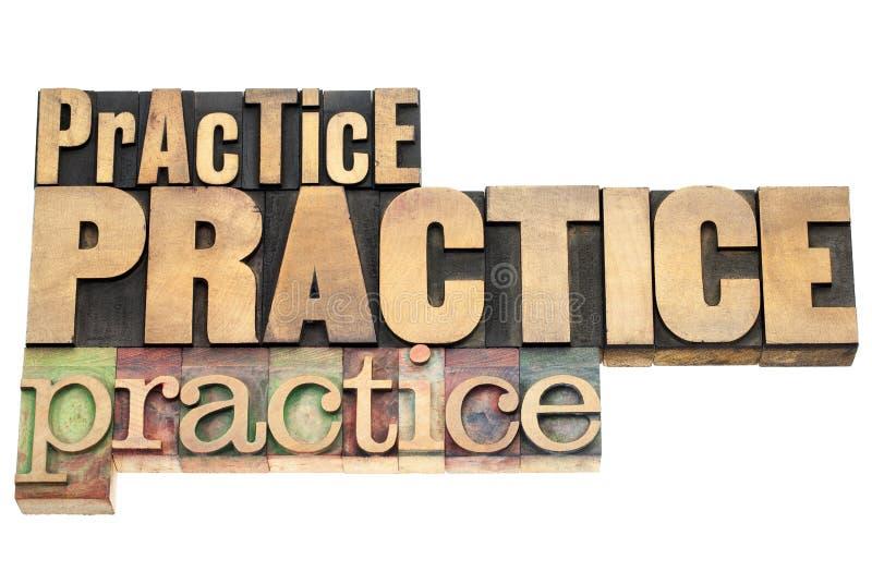 Praxis - Motivationskonzept lizenzfreie stockbilder