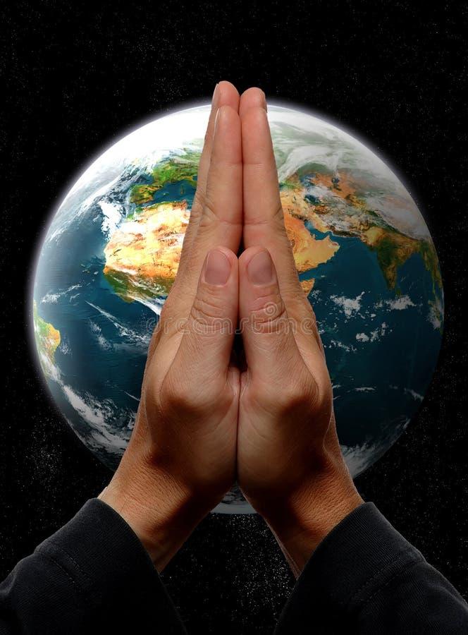 Pray stock image