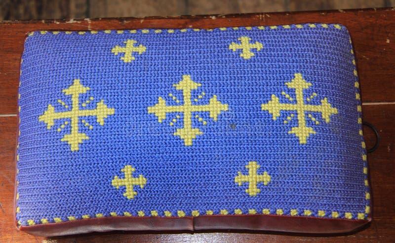 Download Pray Cushion stock photo. Image of jesus, church, england - 20780800