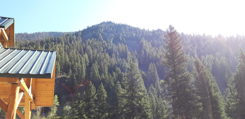 Pray Montana royalty free stock photography