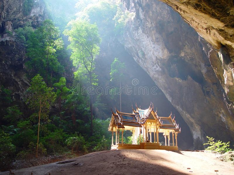 Prayanakorn Cave, famous place for tourism in Thailand. stock photos