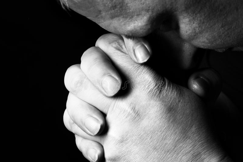 Download Prayer stock image. Image of religion, mature, reflection - 11372785