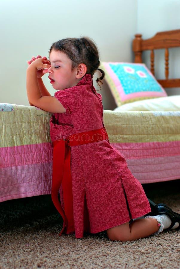 Download Prayer stock photo. Image of daughter, activity, beautiful - 11684802