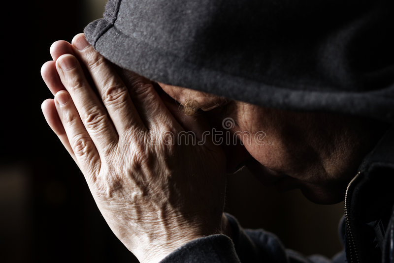 Download Prayer stock photo. Image of senior, hood, orthodoxy, close - 2320248
