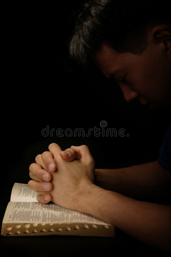 The Prayer royalty free stock photo