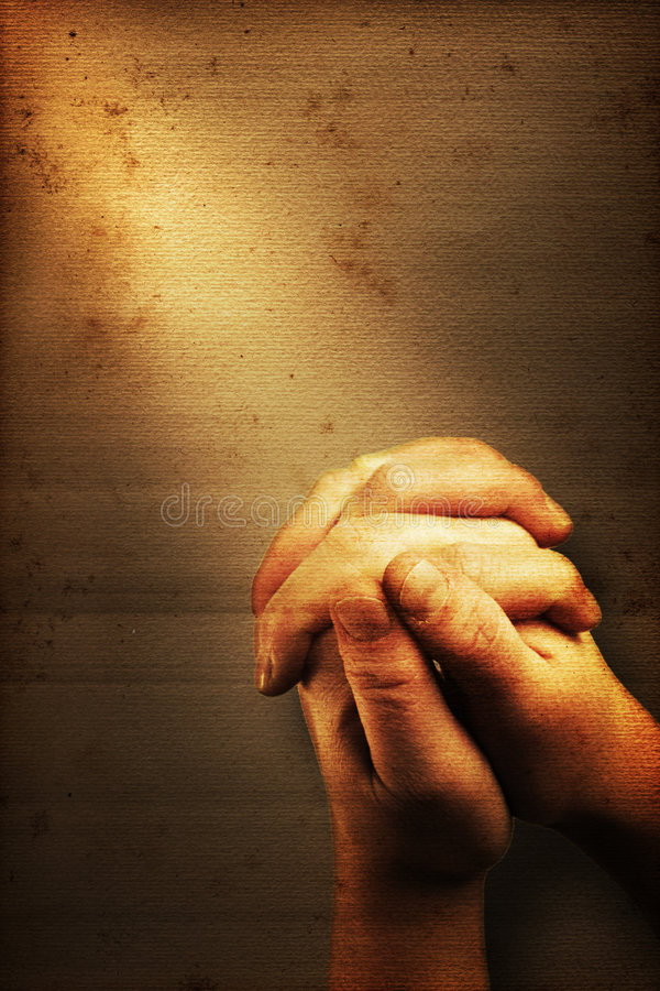Download Prayer stock illustration. Image of hands, dirty, hand - 7409596