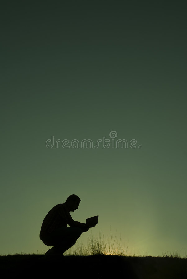 The prayer stock photography