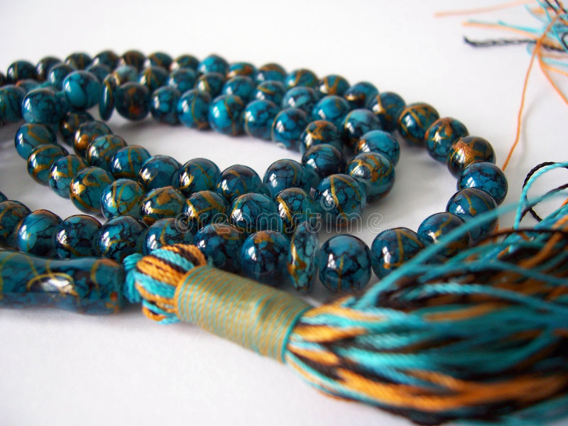 Prayer beads 001 stock photography