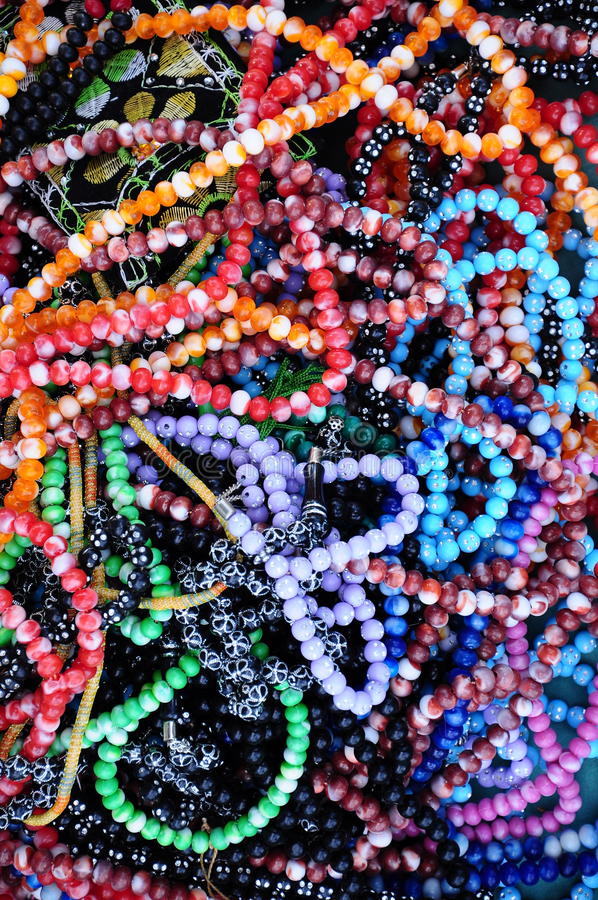 Prayer-beads stock image