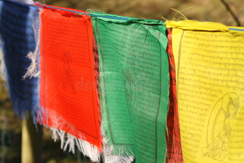 Download Prayer Flags stock photo. Image of buddhism, line, blue - 18573054