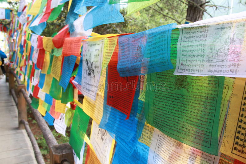 Download Prayer flags stock photo. Image of asia, banner, buddhism - 27210182