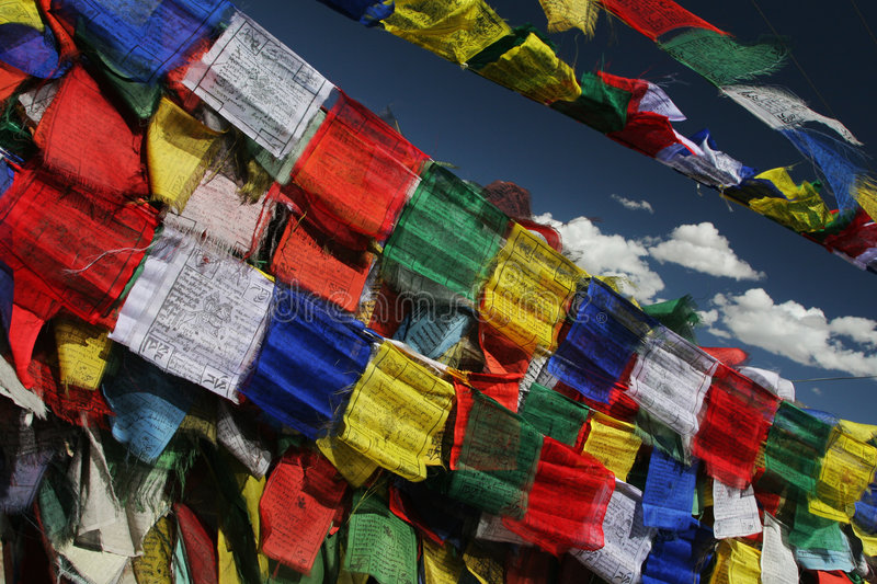 Download Prayer Flags Royalty Free Stock Image - Image: 6830996