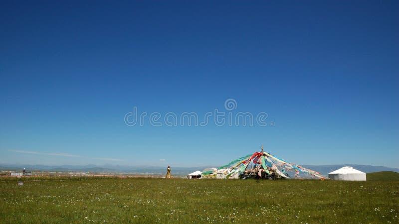 Download Prayer Flags Of Qinghai Lake Stock Image - Image: 26128379