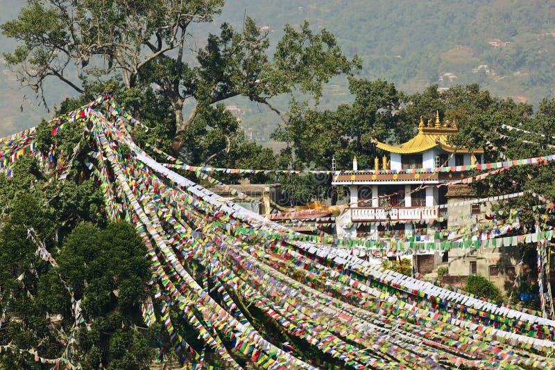 Download Prayer Flags In Swayambhunath Stock Image - Image: 18153063