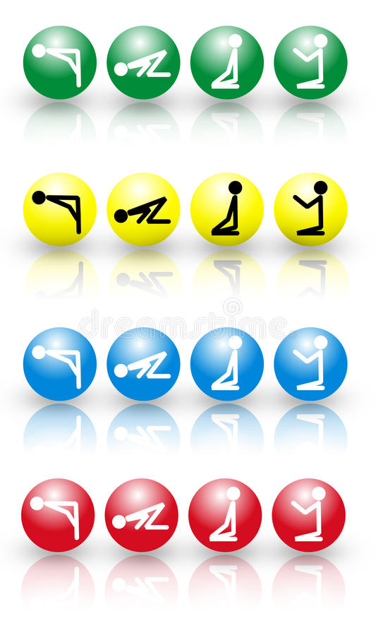 Download Prayer Icon 4 Color Stock Images - Image: 12466004