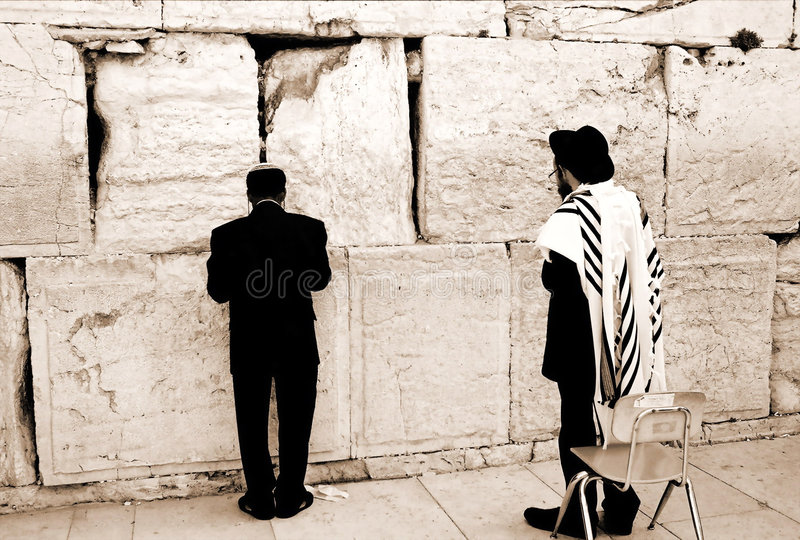 Prayer by the Western Wall