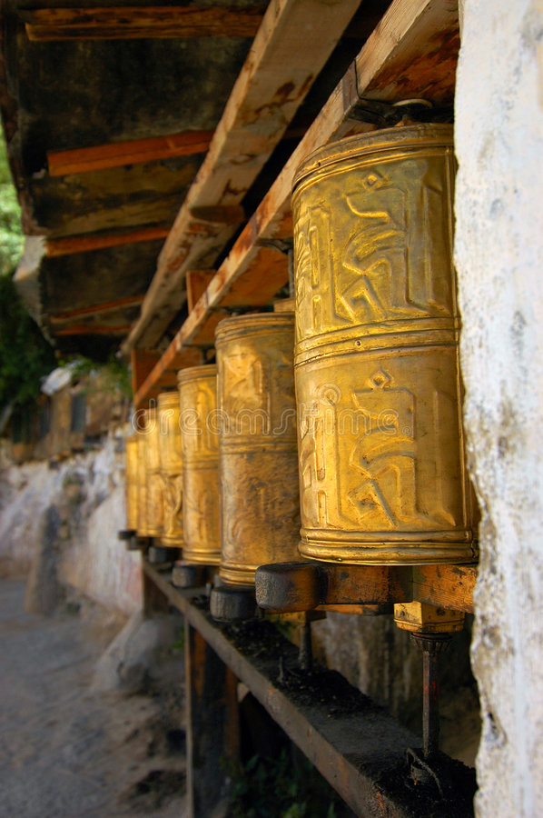 Free Prayer Wheels Stock Images - 1046544