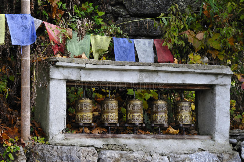 Download Prayer Wheels Royalty Free Stock Images - Image: 11829759