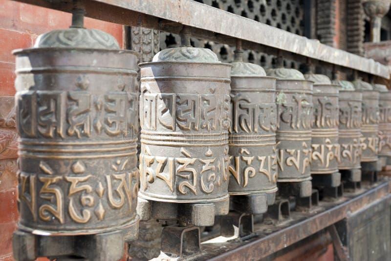 Download Prayer wheels stock photo. Image of golden, gold, tibetan - 17841696