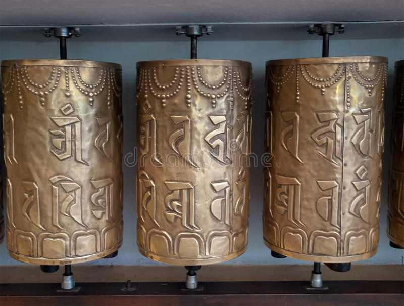 Download Prayer wheels stock photo. Image of himachal, sacred - 24063634