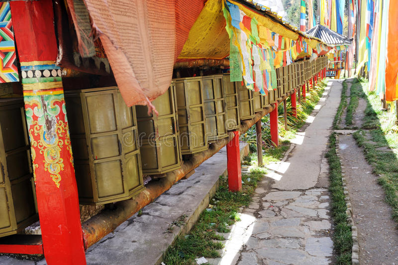 Download Prayer wheels stock photo. Image of building, history - 28100256