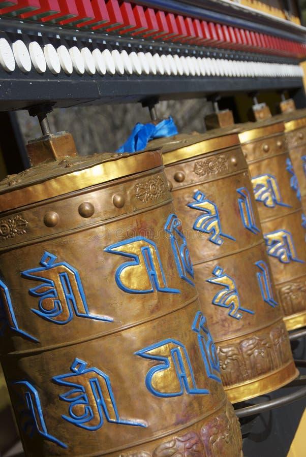 Download Prayer wheels stock image. Image of buddist, religion - 29598755