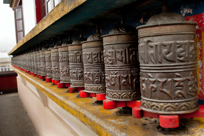 Download Prayer wheels stock image. Image of lava, outdoors, outside - 37665625
