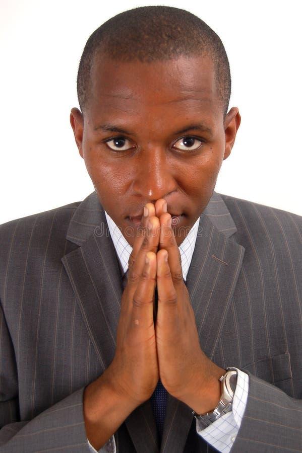 Prayerful Man royalty free stock photo