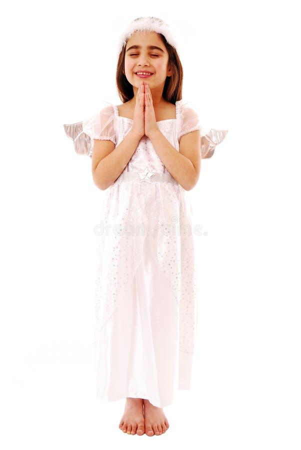 Praying stock image