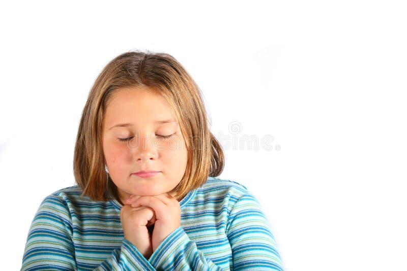 Praying fotografia de stock royalty free