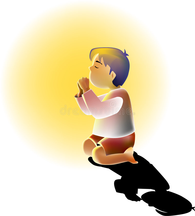 Download Praying stock vector. Image of christian, graphic, special - 3783354