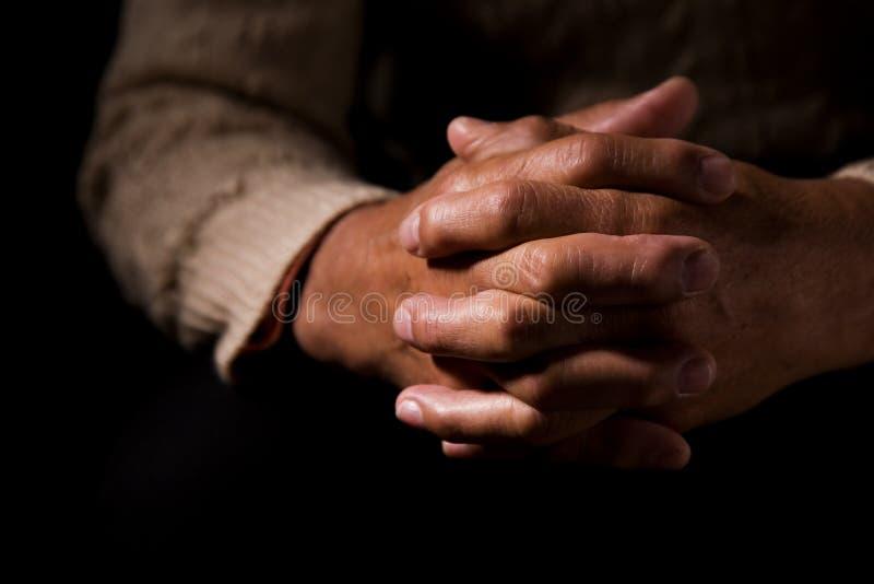 Praying stock photography
