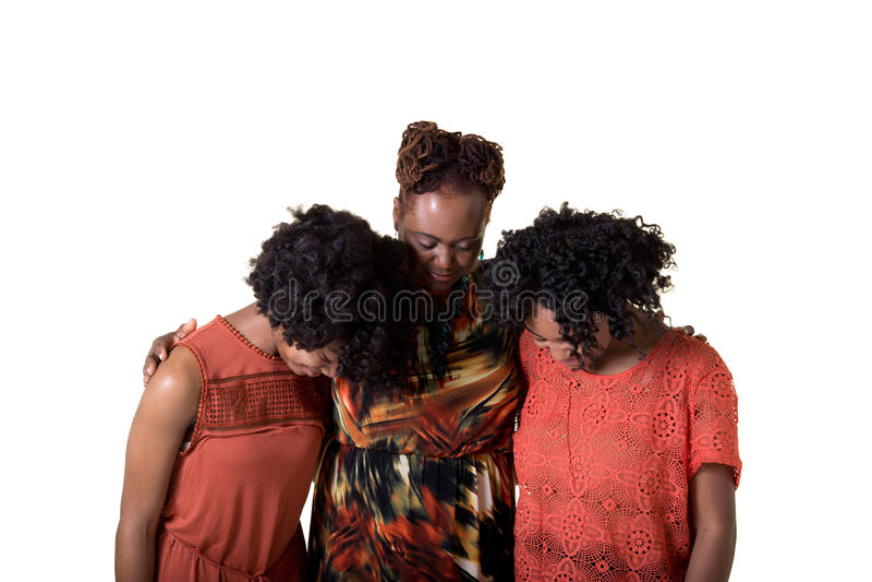 praying royalty-vrije stock fotografie