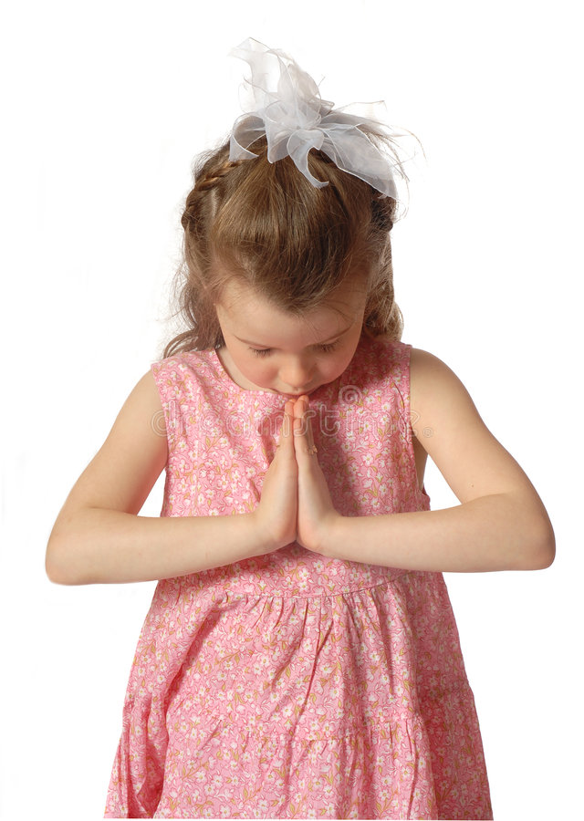 Praying imagens de stock royalty free