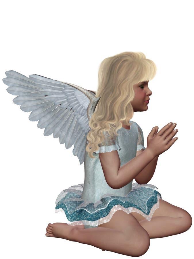 Free Praying Angel 3 Royalty Free Stock Photography - 18645637