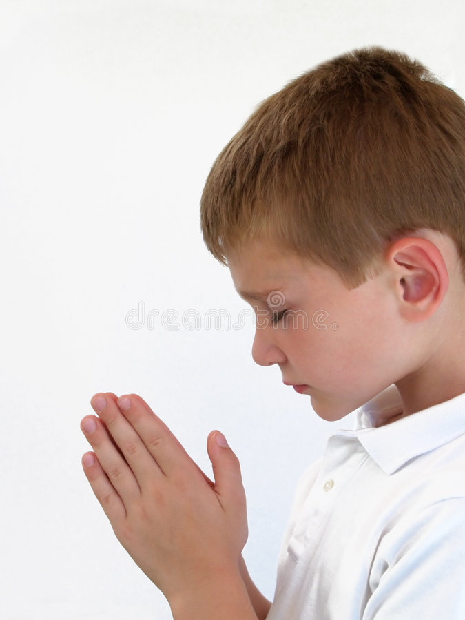 Download Praying Boy stock photo. Image of religion, jesus, belief - 1120032