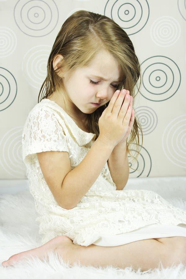 Praying Child royalty free stock photo