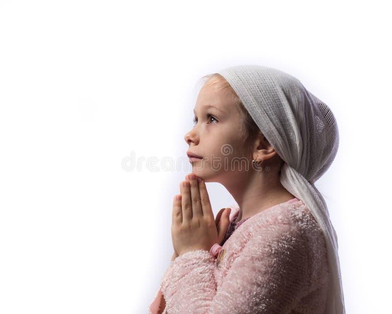 Praying fêmea novo bonito fotos de stock