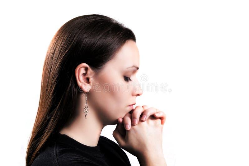 Download Praying Girl stock image. Image of people, beautiful - 22655725