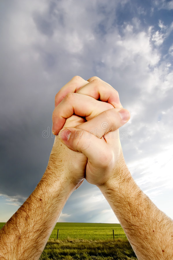 Free Praying Hands Royalty Free Stock Photography - 569067