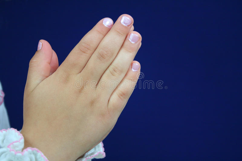 Praying hands. stock photo