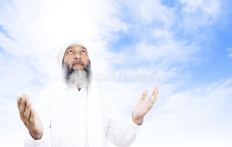 Download Praying man stock image. Image of gray, beard, dhuhr - 11265035
