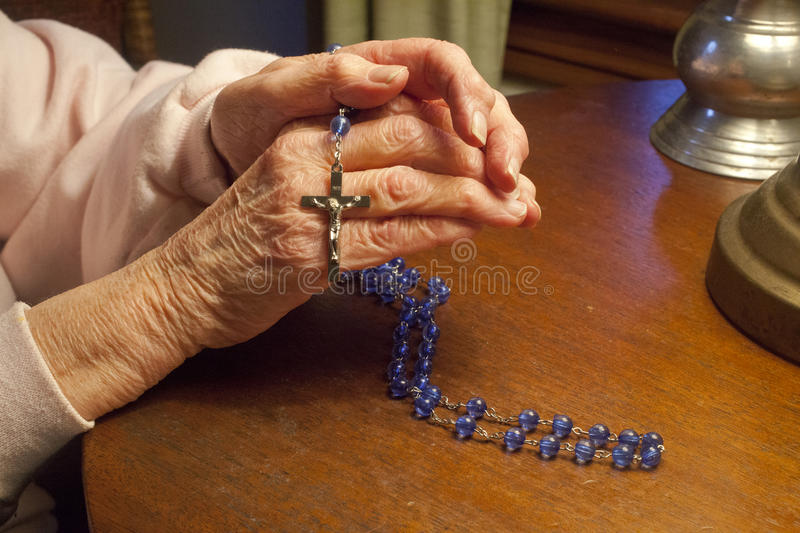 Download Praying The Rosary Royalty Free Stock Photo - Image: 36264615