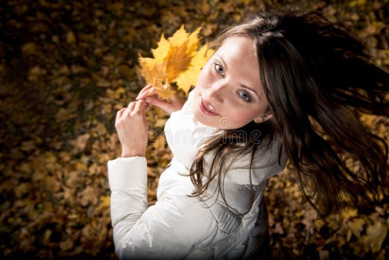 Prazer do outono foto de stock