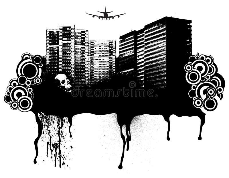 Prazer gótico ilustração stock